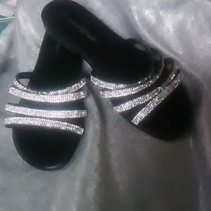 Ashley Stewart Sequined Sandals